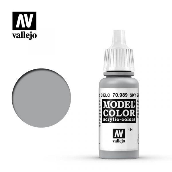 Acrylicos Vallejo AV水漆 模型色彩 Model Color 154 #70989 天空灰色 17ml Acrylicos Vallejo,AV水漆,模型色彩,Model Color,154, #,70989,天空灰色,17ml,