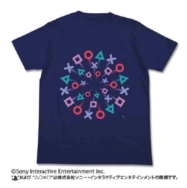 COSPA Sony Play Station ® 祭 短袖T恤 海軍藍 COSPA,Sony,Play Station ® 祭,短袖T恤,海軍藍