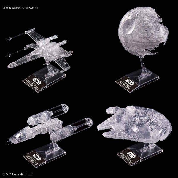 BANDAI 星際大戰 Star Wars 星際大戰 絕地大反攻 透明版載具套組 1/144 1/350 1/2700000  BANDAI,星際大戰,Star Wars 星際大戰,絕地大反攻,透明版載具套組,1/144,1/350,1/2700000