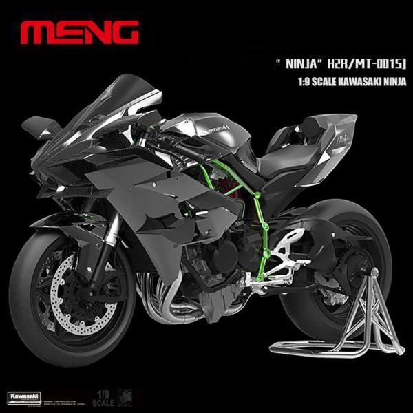 [零件已上色 免膠水] MENG 1/9 川崎 Kawasaki Ninja H2R 零件已上色 免膠水 組裝模型 MT-001s MENG,1/9,川崎,Kawasaki Ninja H2R,MT-001s
