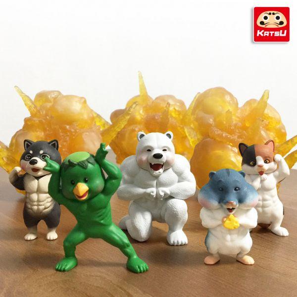Partner Toys 夥伴玩具 扭蛋 最強筋肉傳說 全5種販售 大全 Partner Toys,扭蛋,最強筋肉傳說