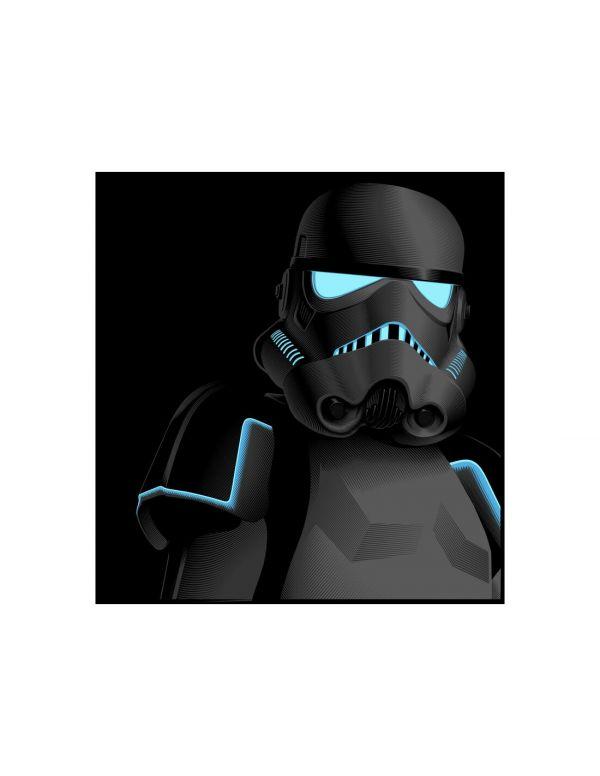 Hasbro 星際大戰 闇影風暴兵 The Black Series SHADOW STORMTROOPER 孩之寶 可動公仔 Hasbro,孩之寶,The Black Series,星際大戰,黑影風暴兵