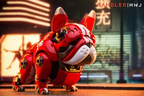 HWJ RAMBLER 萌寵 機械鬥牛犬 可動完成品 HWJ,RAMBLER,萌寵,機械鬥牛犬,可動完成品,