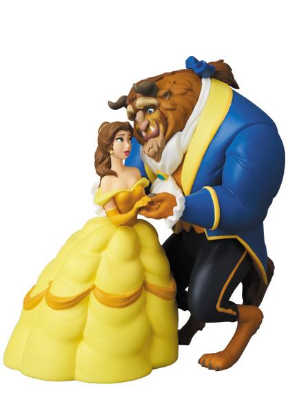 Medicom Toy / UDF / 迪士尼 / 美女與野獸 / 貝兒&野獸 Medicom Toy,迪士尼,美女與野獸,貝兒,野獸