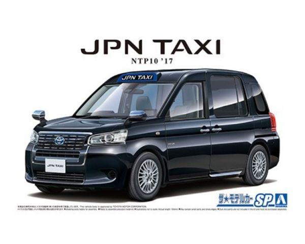[東京奧運專屬款] AOSHIMA / 青島 / 1/24 / 豐田Toyota 日本計程車 NTP10 JPN Taxi '17 黑Ⅱ 組裝模型  AOSHIMA,青島,124,豐田,Toyota,日本計程車,NTP10,JPN,Taxi,17,黑,組裝模型,