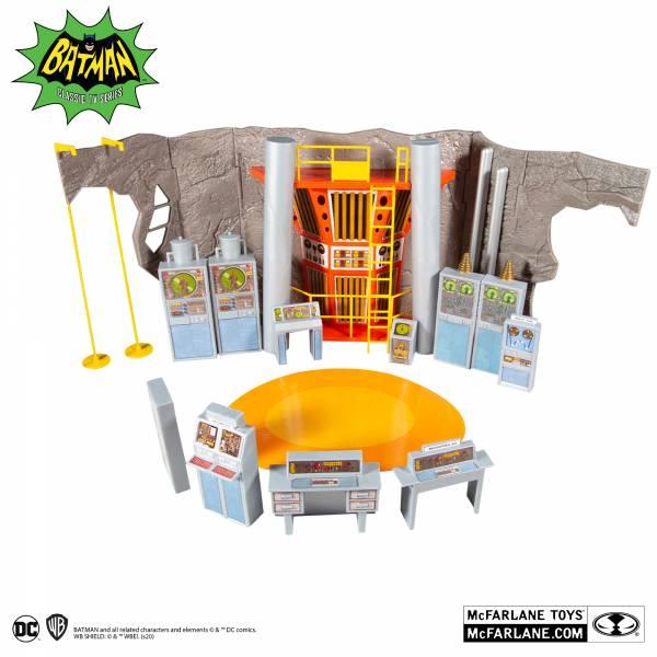 McFarlane Toys 麥法蘭 6吋 DC  RETRO 1966 蝙蝠洞 可動完成品 McFarlane Toys,麥法蘭,6吋,DC, RETRO,1966,蝙蝠洞 ,可動完成品,