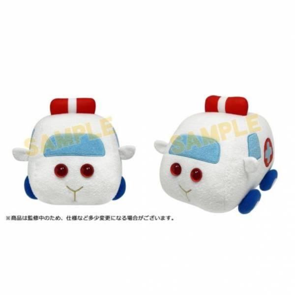 SunRise 天竺鼠車車 救護車車 第2彈 玩偶   SunRise,天竺鼠車車,救護車車,第2彈,玩偶,