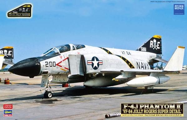 限定生產 1/48 F-4J 幽靈二式 美國海軍 VF-84 JOLLY ROGER 海盜旗中隊 組裝模型,超時空要塞,林明美,一條輝,強攻型態,MACROSS,PLUS,VF-1,女武神,超級女武神,巴爾基里