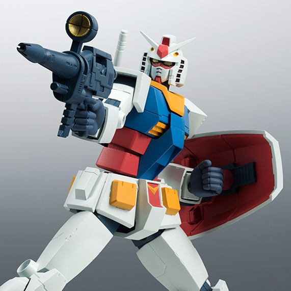 ROBOT魂 <SIDE MS> RX-78-2 鋼彈 初鋼 ver.A.N.I.M.E. 初鋼,ROBOT魂,RX-78-2