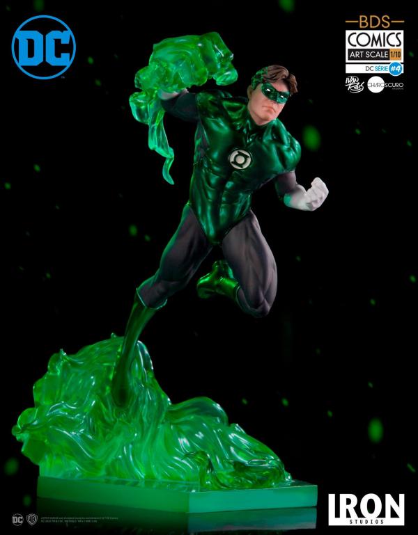 Iron Studios 1/10 DC Comics Series 綠光戰警Green Lantern 雕像 Iron Studios,1/10,DC Comics Series,綠燈俠,綠光戰警,Green Lantern雕像