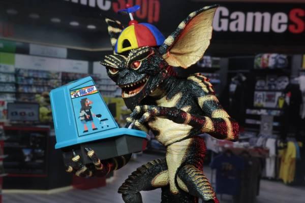 NECA 小精靈Gremlin  邪惡小精靈Stripe 遊戲玩家 可動公仔 Ultimate Gamer Gremlin  NECA,小精靈,Gremlin, 邪惡小精靈,Stripe,遊戲玩家,可動公仔,Ultimate Gamer Gremlin