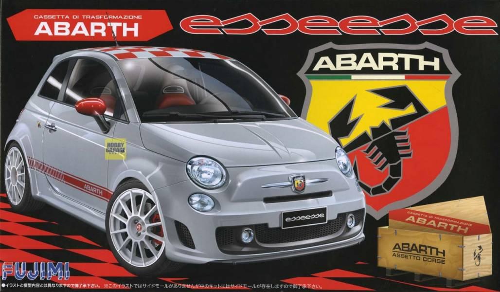 1/24 ABARTH 500 ESSEESE FUJIMI RS82 富士美 組裝模型 FUJIMI,1/24,GT,RS,ABARTH,500,ESSEESE,