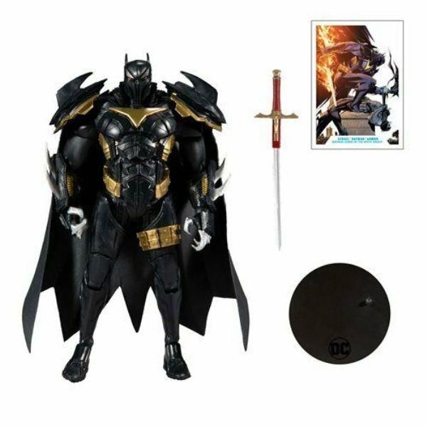 McFarlane Toys DC MULTIVERSE V3 白騎士 死亡天使 蝙蝠裝甲 AZBAT 可動模型 McFarlane Toys,DC,MULTIVERSE,V3,白騎士,死亡天使,蝙蝠裝甲,AZBAT,可動模型