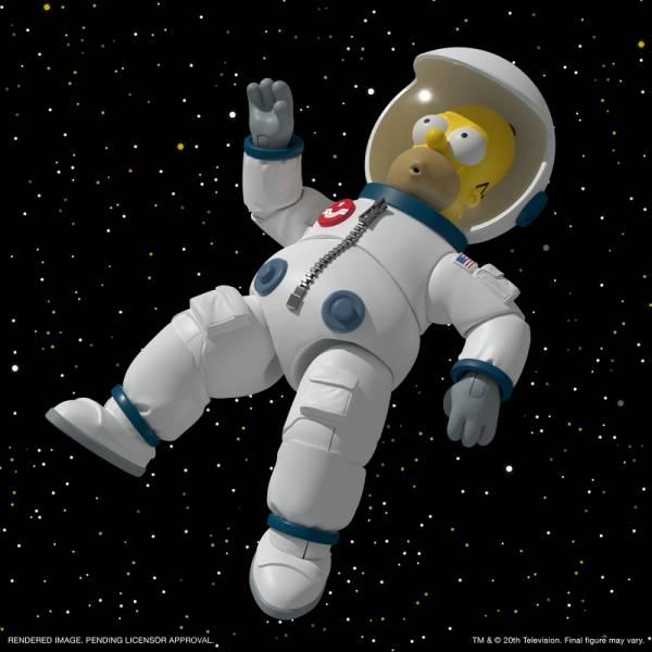Super7 7吋 辛普森家庭 The Simpsons 荷馬 太空裝 可動完成品 Super7,8吋,辛普森家庭,The Simpsons,荷馬,太空裝,可動完成品,