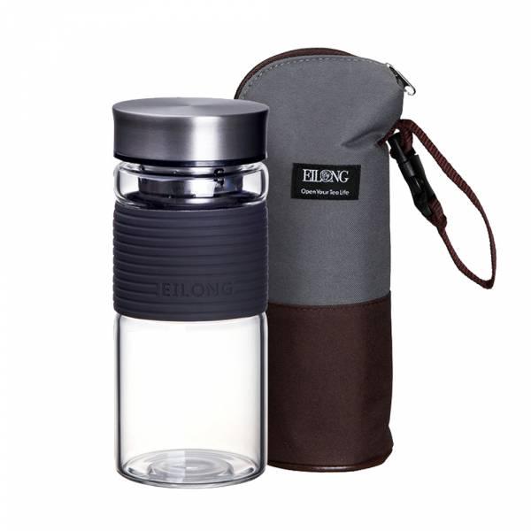 【Eilong 宜龍】彩妍寬口隨身瓶450ml+雙色保溫保冷袋
