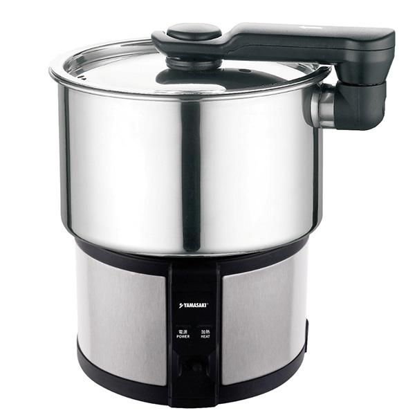 【山崎YAMASAKI】隨行電熱鍋(SK-110AB) 電熱鍋,電鍋,旅行鍋,空姐鍋