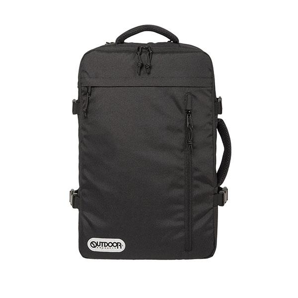 【OUTDOOR】17吋筆電後背包-悠遊寰旅旅行背包(黑/藍/棕/灰)