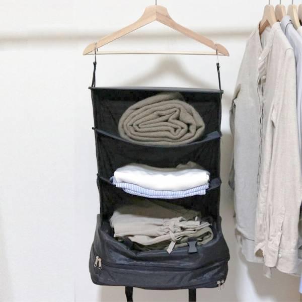 旅行移動衣櫃收納袋|可收納整個衣櫃【人氣商品】 旅行收納,移動衣櫃,衣櫃收納