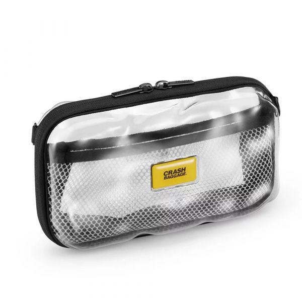 【Crash Baggage】Mini Share 透明隨身包