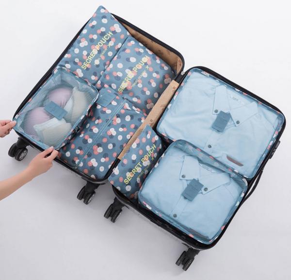旅行收納袋7件組(加大加厚款)多功能收納袋推薦 旅行收納,收納袋,居家收納