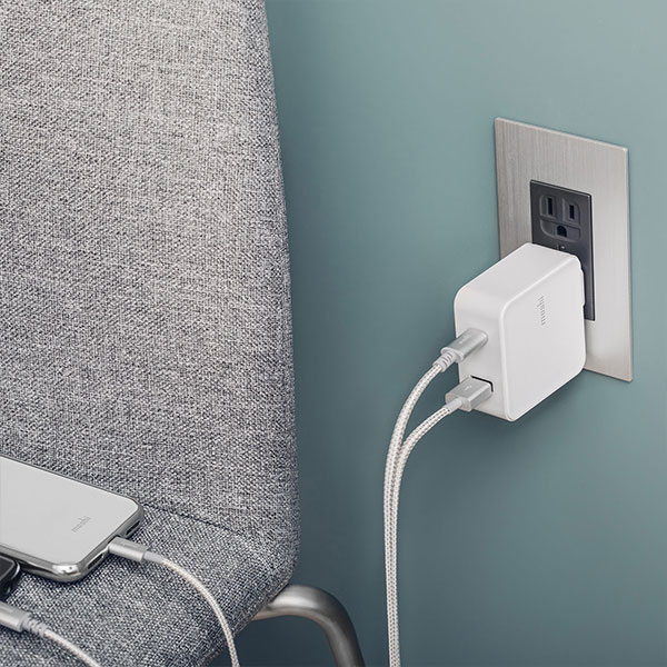 【Moshi】ProGeo 旅充系列 USB-C及USB埠充電器 - 美規