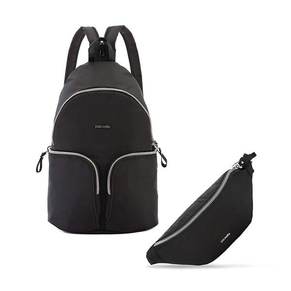 【Pacsafe送經典腰包】Stylesafe 6L|防盜單雙肩兩用包