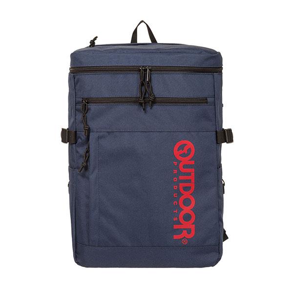【OUTDOOR】15.6吋筆電後背包-風格前線風(黑/藍/灰)