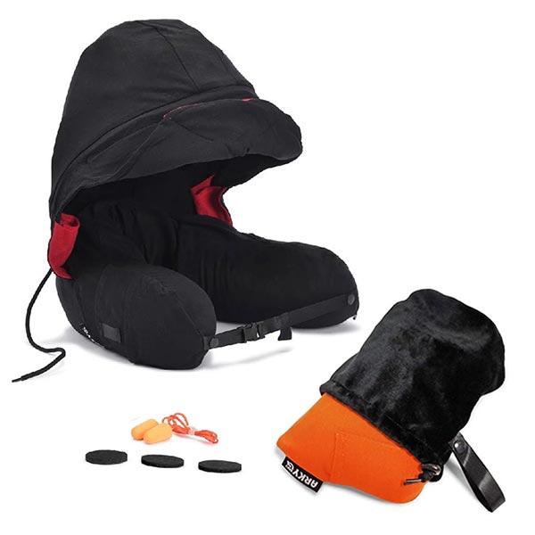 【ARKY】咕咕旅行枕|快速充氣版+專用收納袋 頸枕