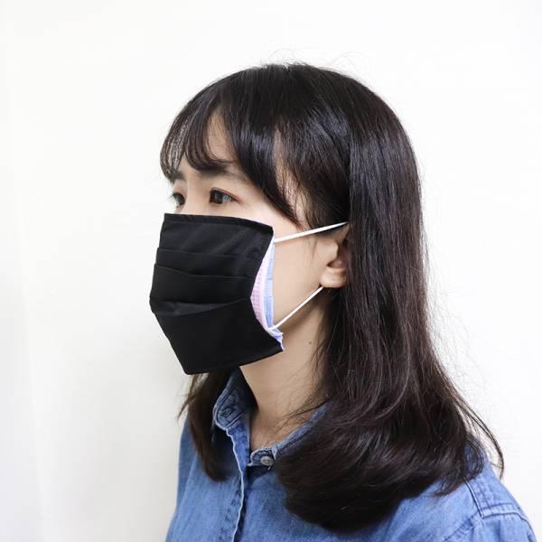 【台灣製】防潑水口罩套|3D貼合臉部|防疫必備