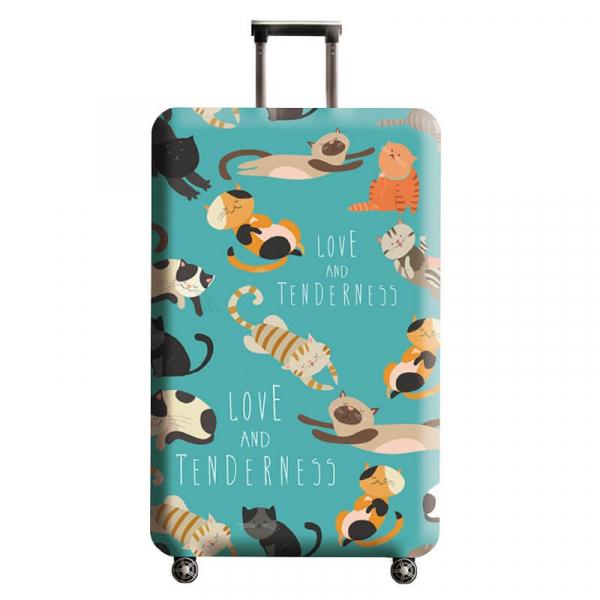 【HowTravel】行李箱保護套-動物系列(兩件免運) 行李箱套,行李箱保護套,行李箱防塵套,行李箱套,