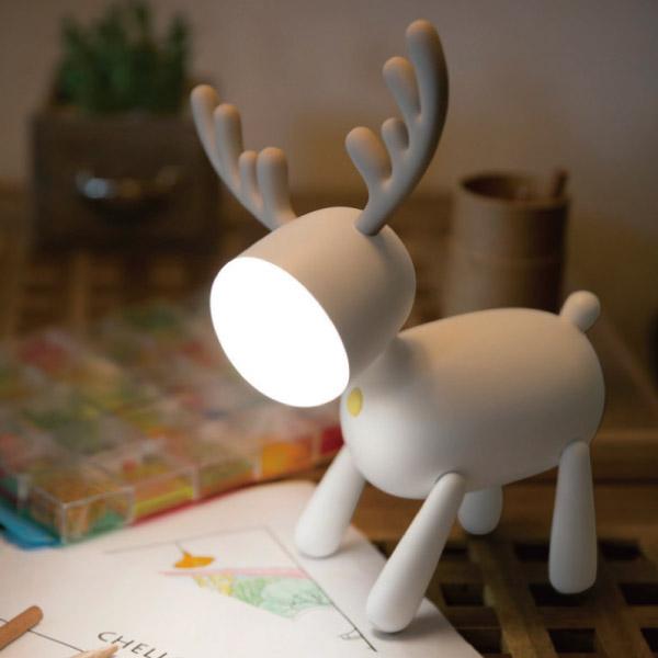 麋鹿小夜燈|聖誕交換禮物