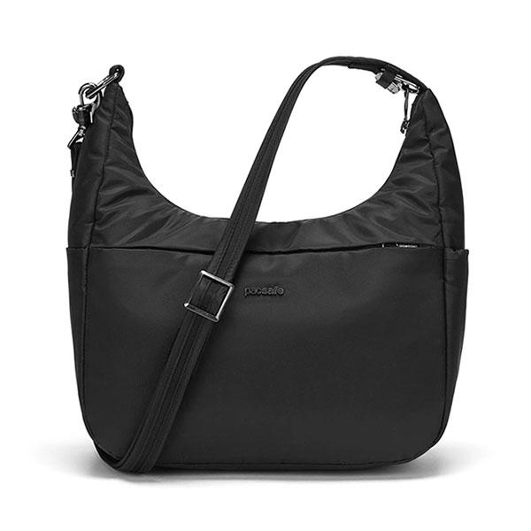 【Pacsafe】漫遊防盜側背包 | Cruise 8L(黑色/亞麻棕/淡酒紅)斜背包/旅行背包