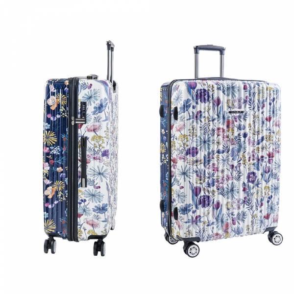 【NaSaDen 納莎登】22吋行李箱 (新無憂系列x波麗聯名限量雙色版) 旅行箱