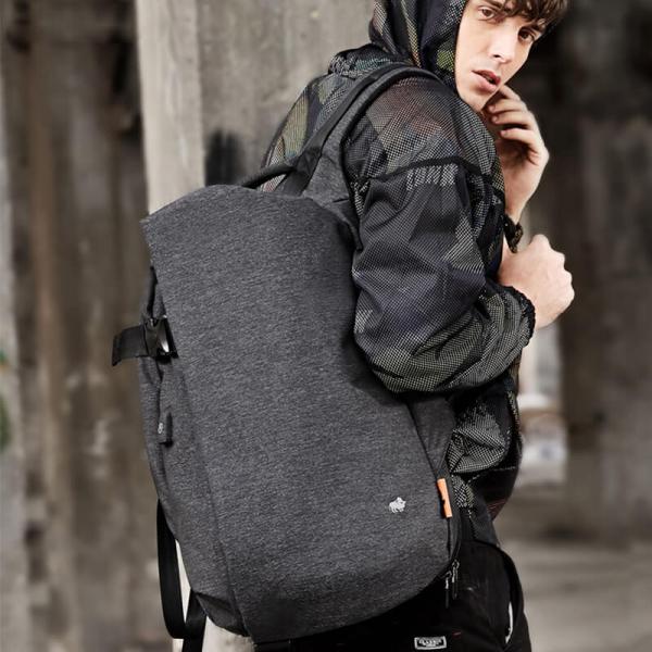 【BISON DENIM】都會城市風商務防盜背包 防盜背包,後背包,潮流男性背包