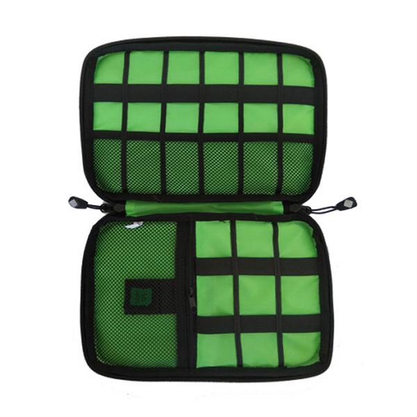 【美國】亞馬遜熱銷商品 3C數碼收納袋 10個夾層 SD卡收納|簡便多功能摺疊收納包 旅行收納,收納袋