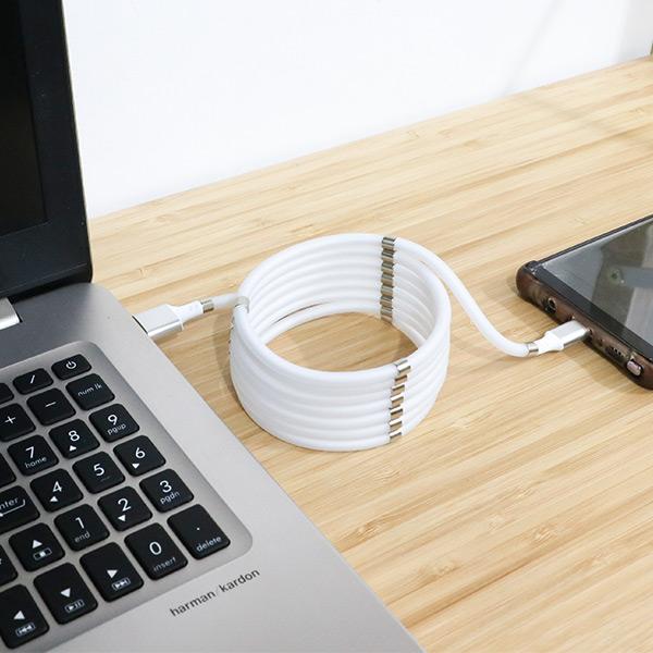 【充電麵】好旅行磁吸式充電線|磁吸式數據線 磁吸收納數據線