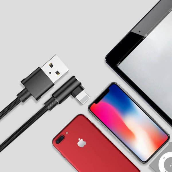 彎頭(L頭)蘋果充電線 充電線,iphone,傳輸線