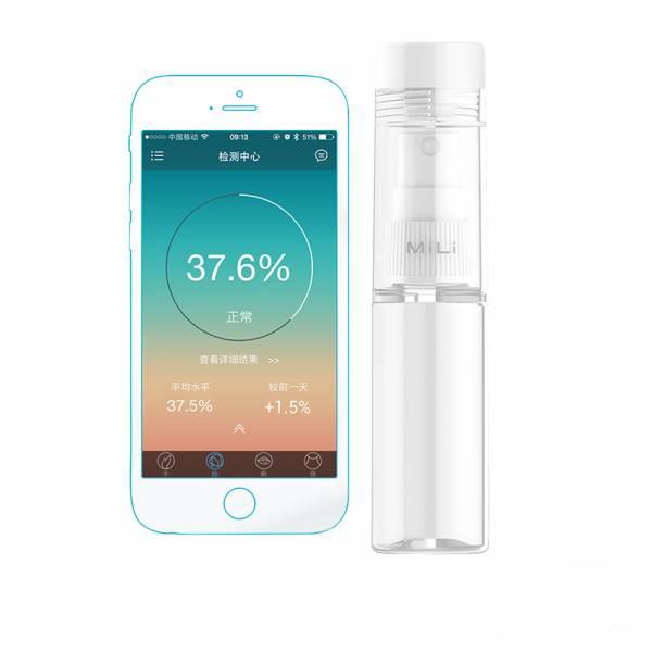 【MiLi】Pure Bottle 二合一肌膚水分偵測器旅行分裝瓶 30ml 噴霧瓶