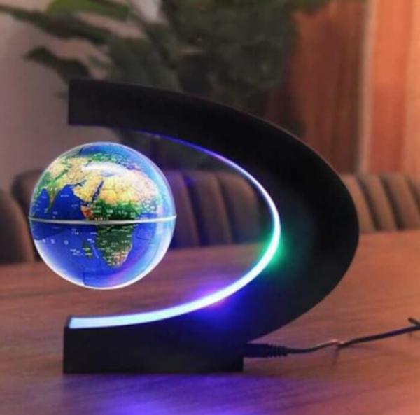 發光磁浮地球儀夜燈
