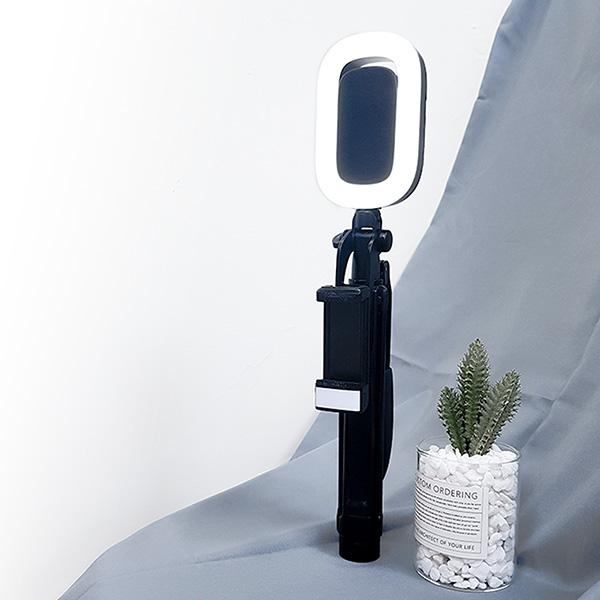 【SELFable】手持穩定自拍棒+蘋果光補光燈|藍牙自拍腳架 拍照更厲害 穩定自拍棒