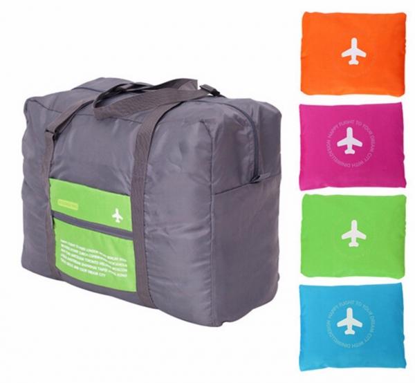 【韓版】旅行購物必備|多功能收納拉桿包 (43L)|行李箱手提拉桿推薦 旅行收納,拉桿旅行袋,收納袋