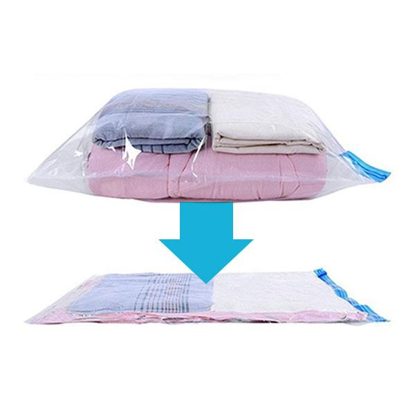 旅行衣物壓縮真空袋(一組兩入)50*70cm 旅行收納,收納包,壓縮收納袋