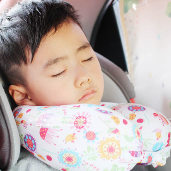 【韓國空運】兒童版頸枕|幼兒小孩固定U型枕 兒童U型枕,兒童旅行枕,U型枕