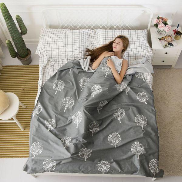 【純棉】【雙人】外宿旅行隔髒睡包睡袋 AirBnb住宿必備推薦  睡袋,隔髒袋,AirBnb