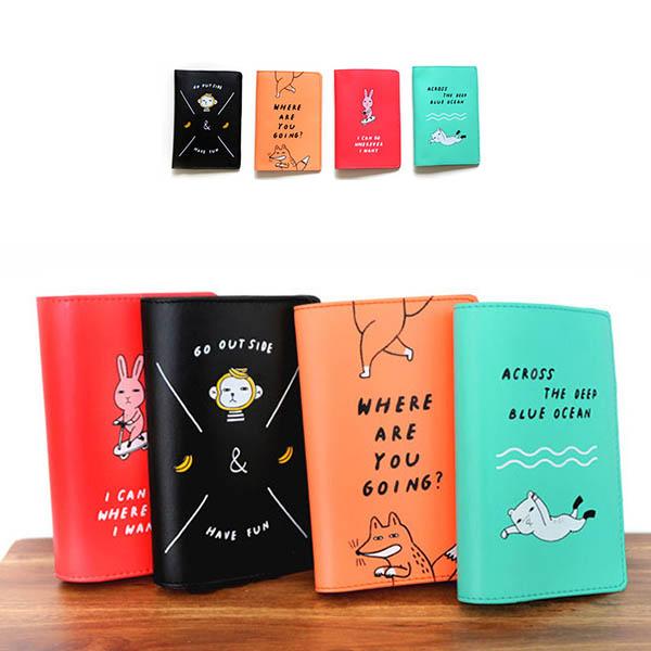 【正版韓貨】韓國ROMANE護照套|證件收納包 旅行收納,護照套,收納包