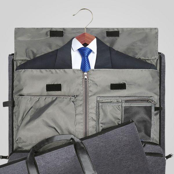 【Modoker】二合一西裝收納包|商務旅遊首選