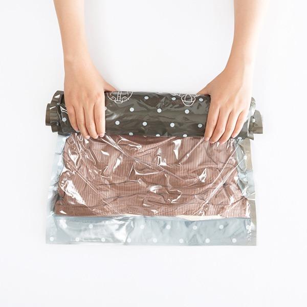 手卷式真空壓縮袋收納包 旅行收納,手卷式真空壓縮袋,收納袋