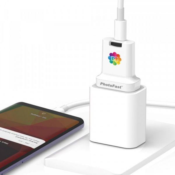 【PhotoFast】雙用快充備份方塊PhotoCube|支援iOS和Android|TYPE C PhotoCube,雙用快充備份方塊