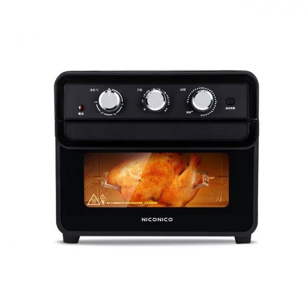【NICONICO】23L空氣烤箱/氣炸烤箱(NI-GB808)