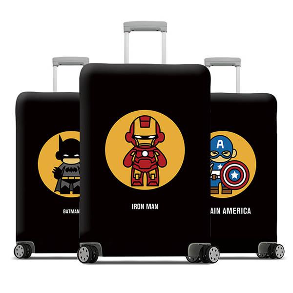 【HowTravel】行李箱保護套-漫威系列(兩件免運) 行李箱套,行李箱保護套,行李箱防塵套